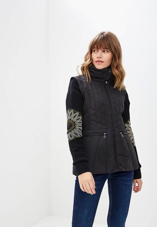 Куртка утепленная Desigual Desigual DE002EWCCCG7 цена 2017