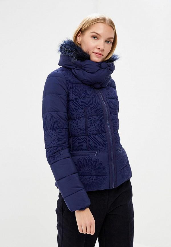 Куртка утепленная Desigual Desigual DE002EWCCCG9 цена 2017