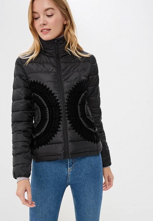 Куртка утепленная Desigual Desigual DE002EWCCCH1 куртка кожаная desigual desigual de002emccbk8
