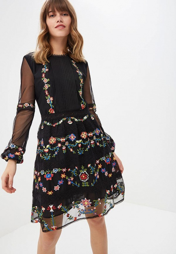 Платье Desigual Desigual DE002EWCCDA2 женское платье dotfashion o 2015 sheinside vestidos desigual dress150122509
