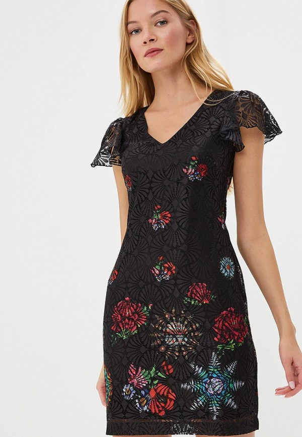 Платье Desigual Desigual DE002EWCCDA3 женское платье dotfashion o 2015 sheinside vestidos desigual dress150122509