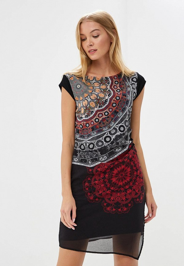 Платье Desigual Desigual DE002EWCCDA5 женское платье dotfashion o 2015 sheinside vestidos desigual dress150122509
