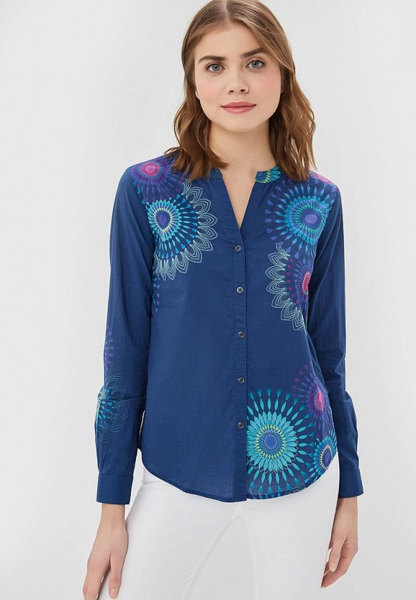 цена Блуза Desigual Desigual DE002EWDMXV2 в интернет-магазинах