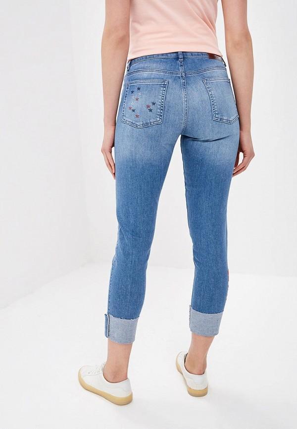 Фото 3 - женские джинсы Desigual синего цвета