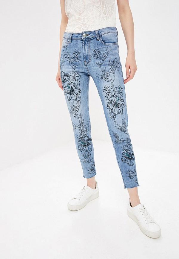 женские джинсы desigual, голубые