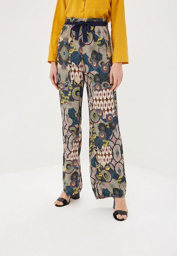 женские повседневные брюки desigual, разноцветные