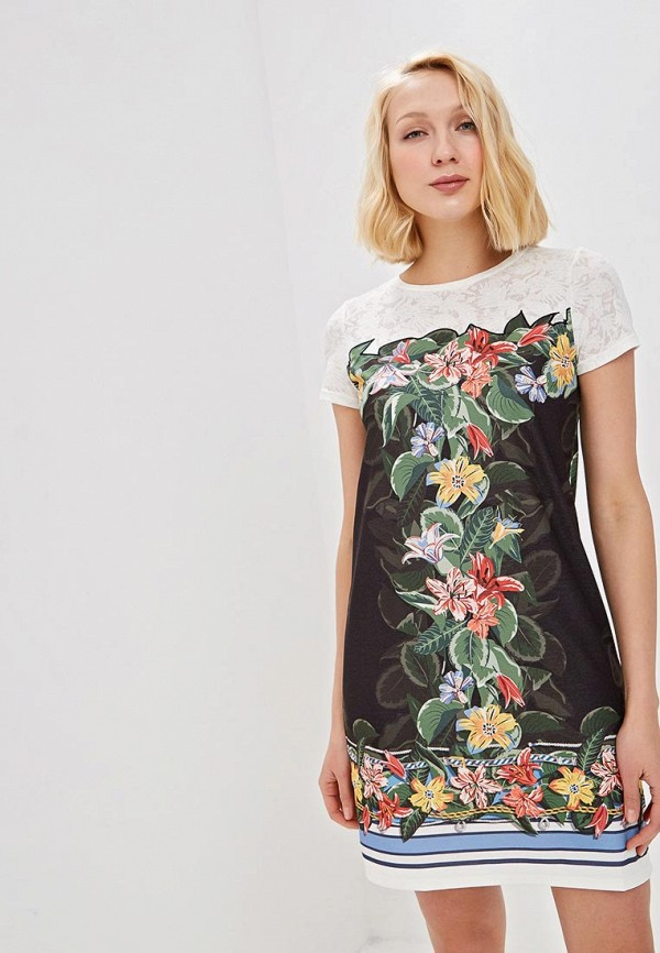 Платье Desigual Desigual DE002EWDMYF7 женское платье dotfashion o 2015 sheinside vestidos desigual dress150122509