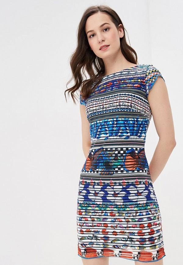 купить Платье Desigual Desigual DE002EWDMYF8 по цене 5910 рублей