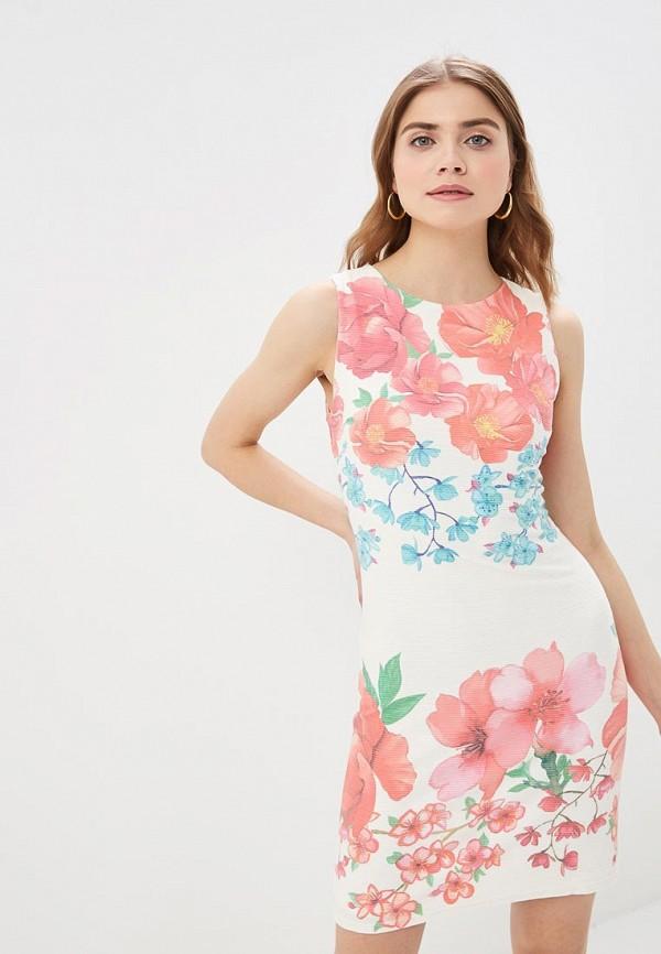 женское повседневные платье desigual, белое