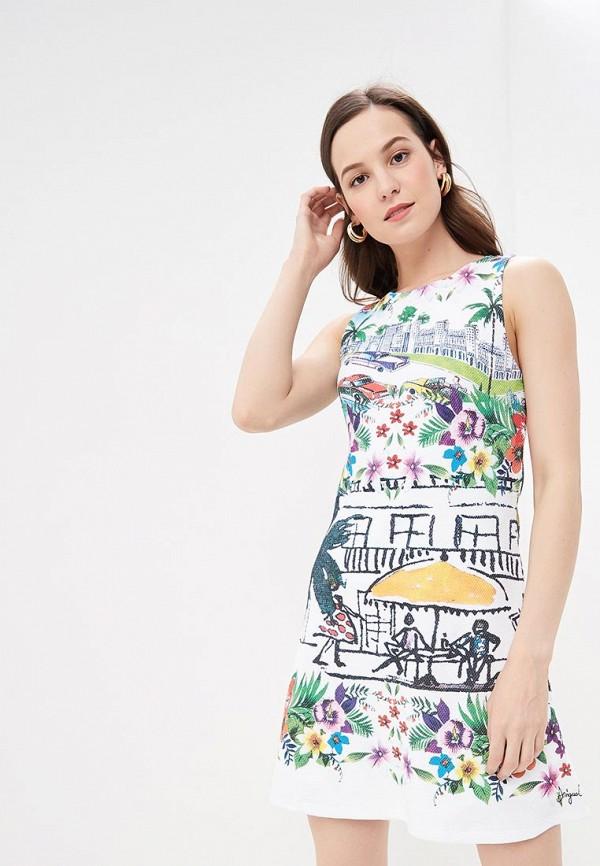 купить Платье Desigual Desigual DE002EWDMYG1 по цене 5840 рублей