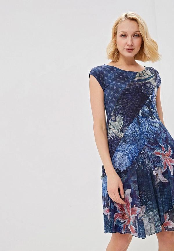 Платье Desigual Desigual DE002EWDMYG9 платье desigual desigual de002ewulc34