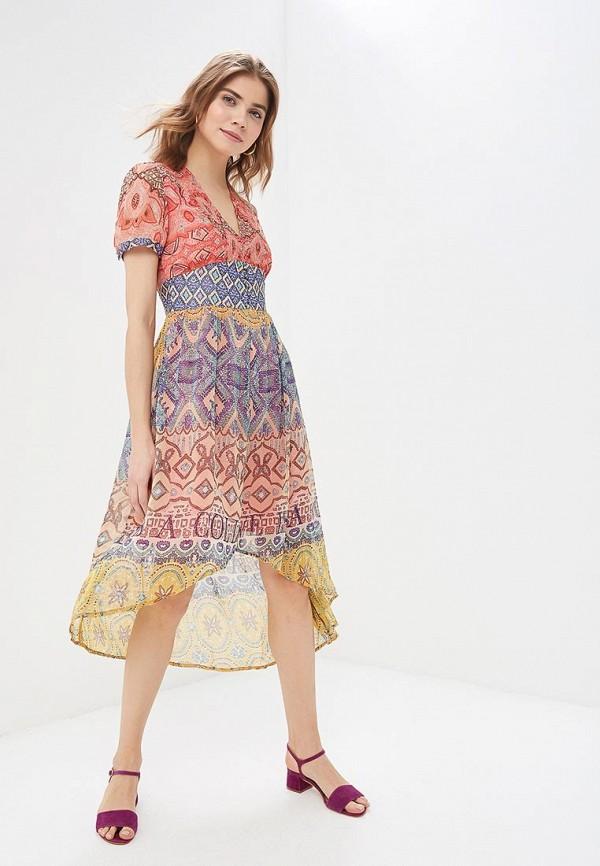 цена Платье Desigual Desigual DE002EWDMYH2 онлайн в 2017 году