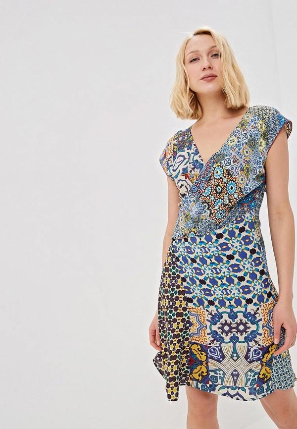 Платье Desigual Desigual DE002EWDMYH3 женское платье party dresses 2015 desigual bodycon a1 qx154
