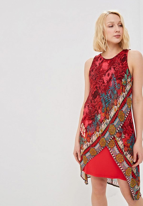 Платье Desigual Desigual DE002EWDMYH5 женское платье dotfashion o 2015 sheinside vestidos desigual dress150122509
