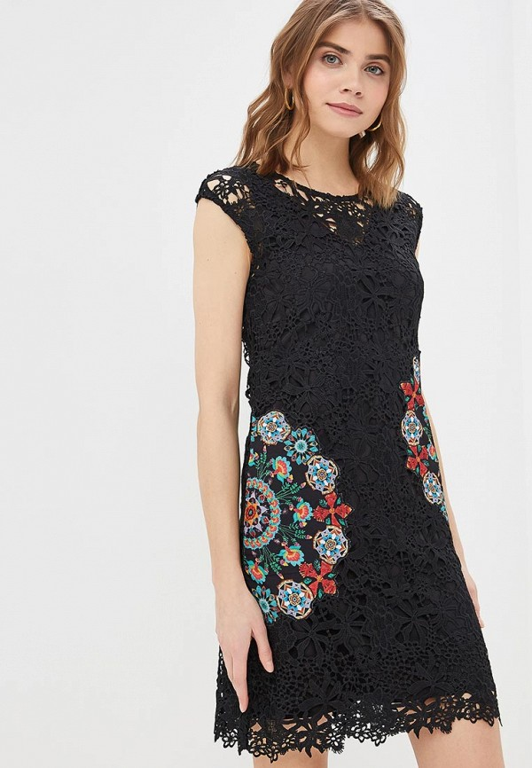 Платье Desigual Desigual DE002EWDMYH7 женское платье dotfashion o 2015 sheinside vestidos desigual dress150122509
