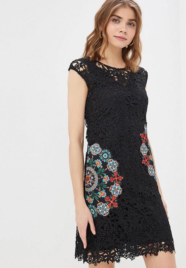 Платье Desigual Desigual DE002EWDMYH7 топ desigual desigual de002ewoqq92