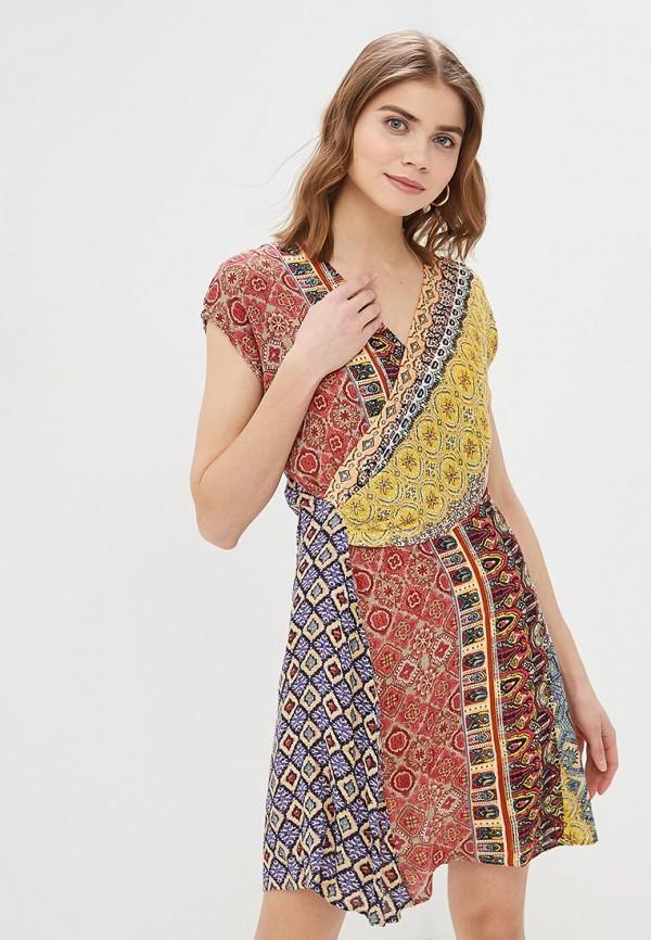 Платье Desigual Desigual DE002EWDMYI3 цена 2017
