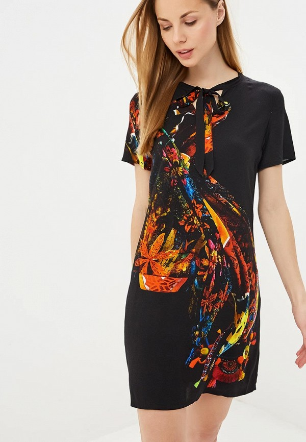 Платье Desigual Desigual DE002EWDMYI7 платье desigual desigual de002ewulc34