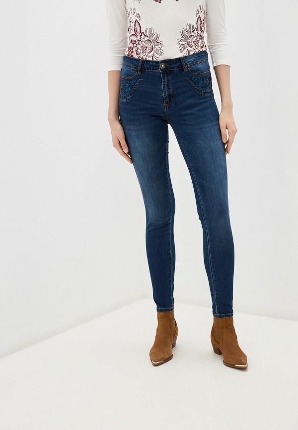Джинсы Desigual Desigual DE002EWGPJU4 джинсы desigual