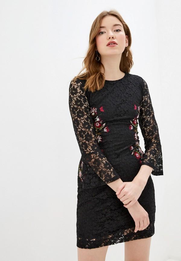 женское вечерние платье desigual, черное