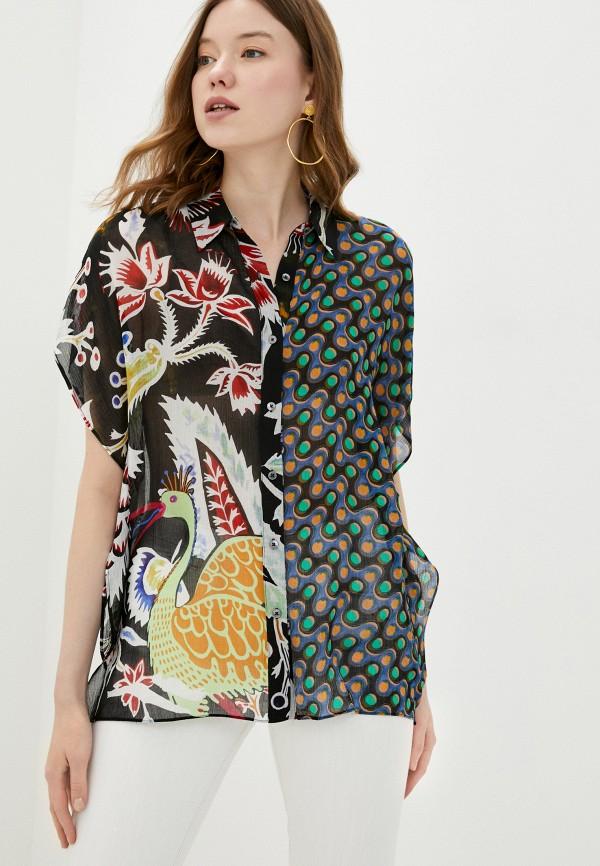 женская блузка desigual, черная