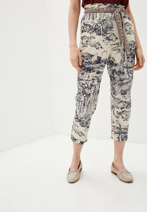 женские брюки desigual, бежевые