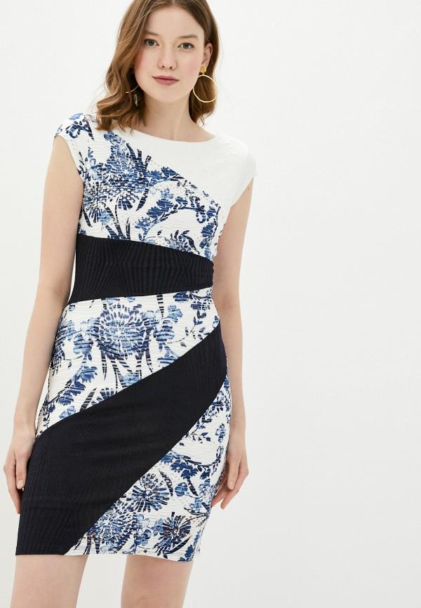 женское платье-футляр desigual, разноцветное