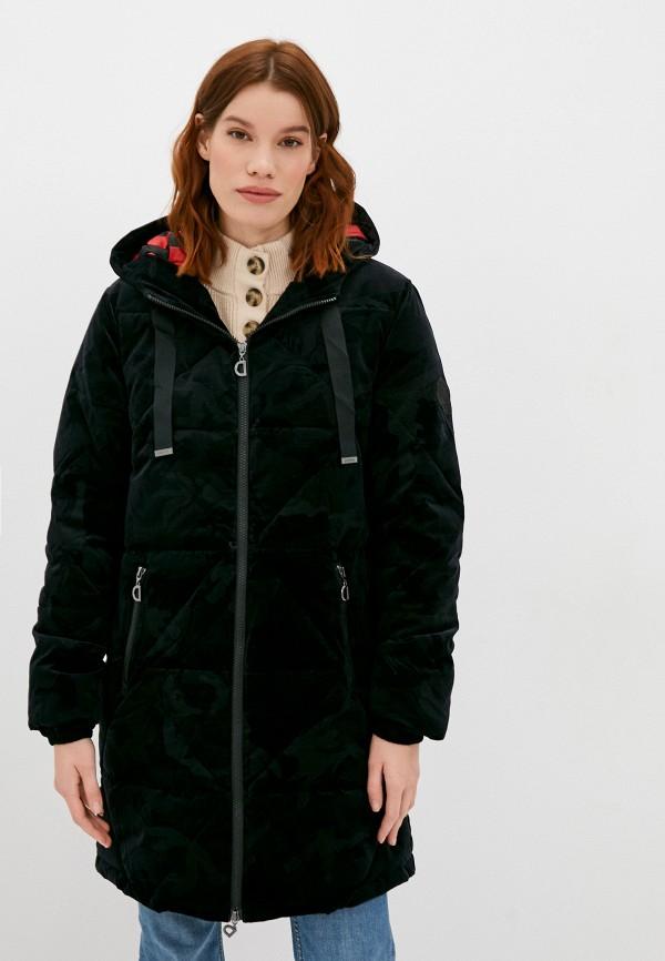 женская куртка desigual, черная