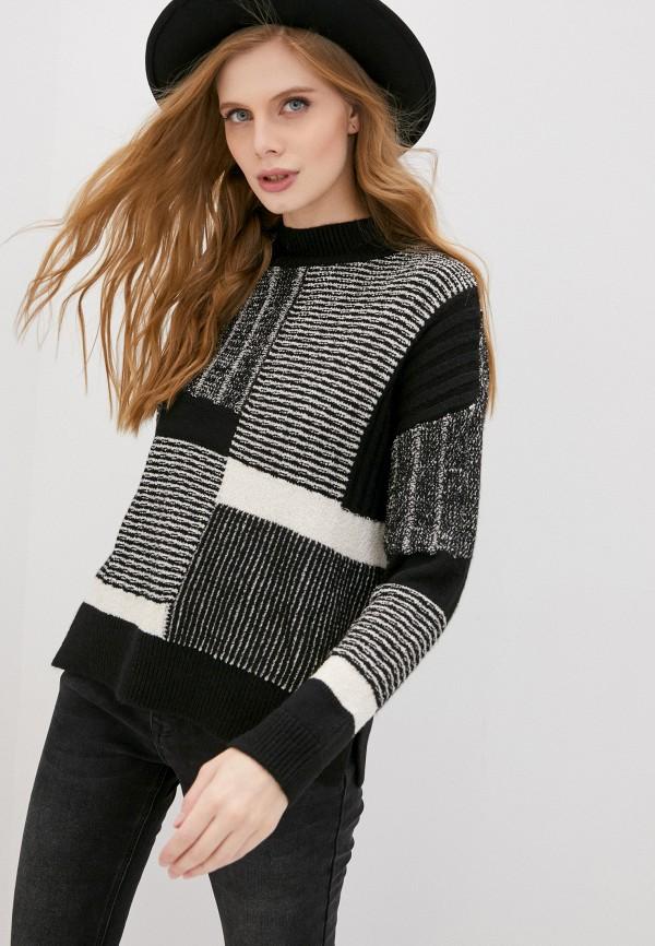 женский свитер desigual, черный