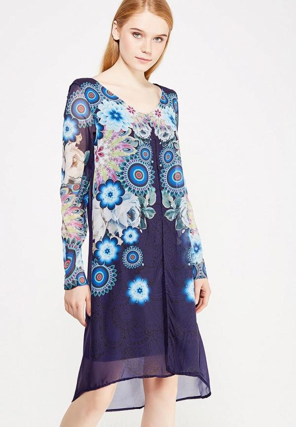 Платье Desigual Desigual DE002EWULC50 пальто desigual desigual de002ewcccg3