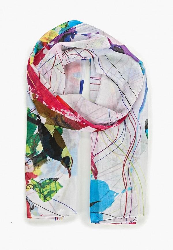 женский платок desigual, разноцветный