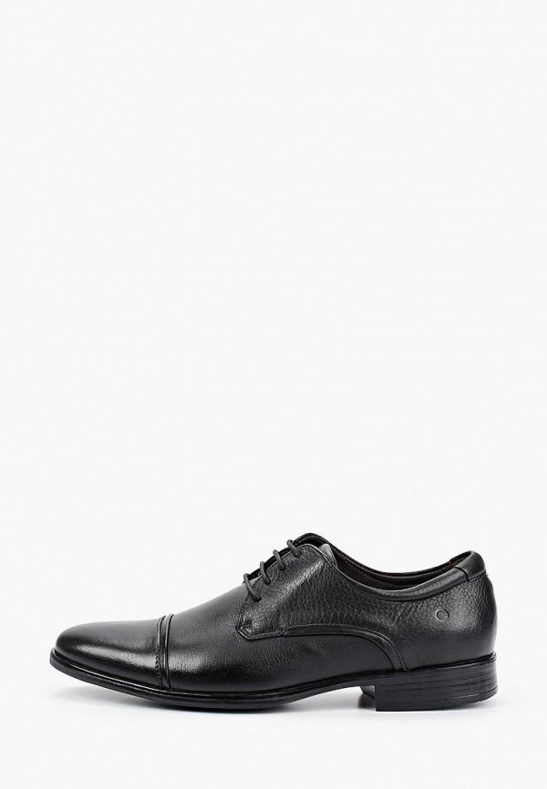 мужские туфли democrata, черные