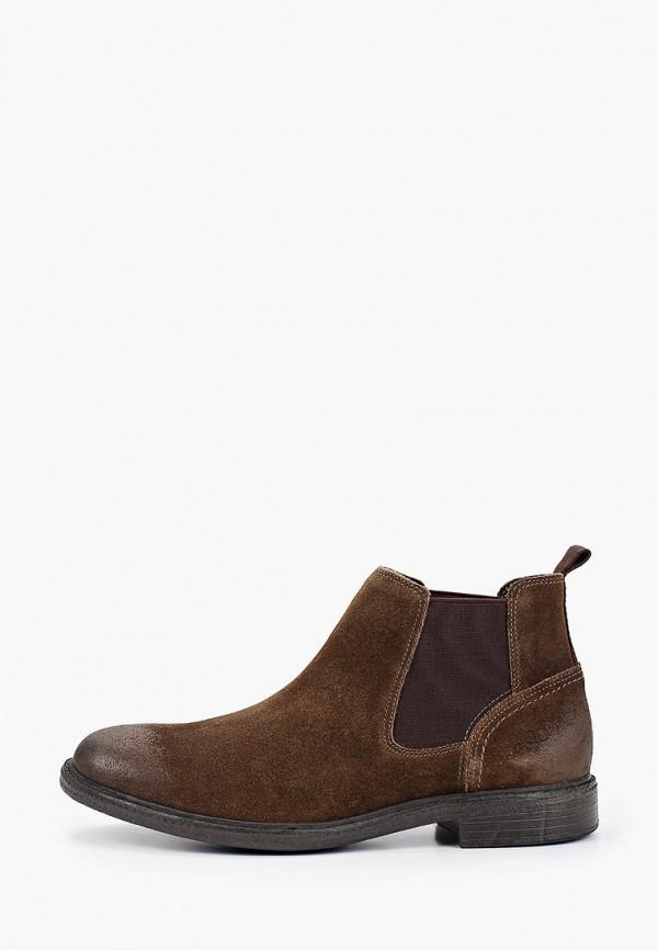 мужские ботинки democrata, коричневые
