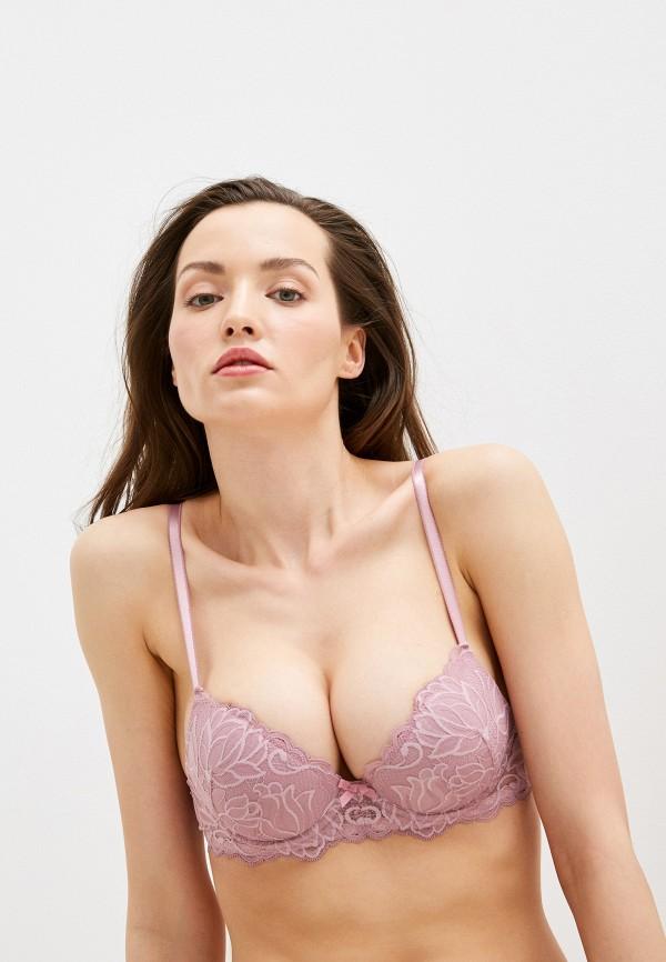 женский бюстгальтер push-up дефиле, фиолетовый