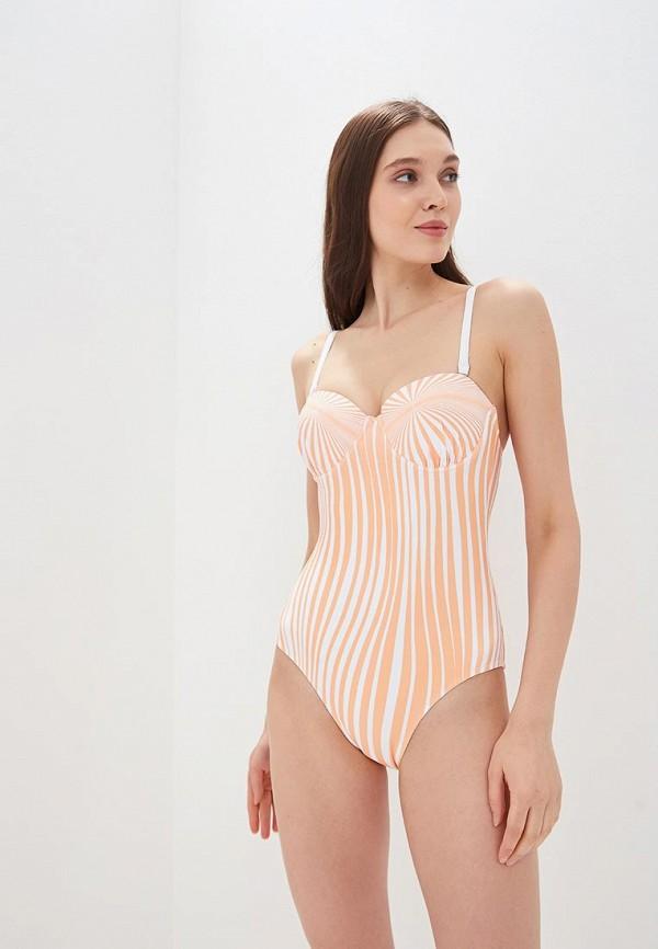 женский купальник delice, оранжевый