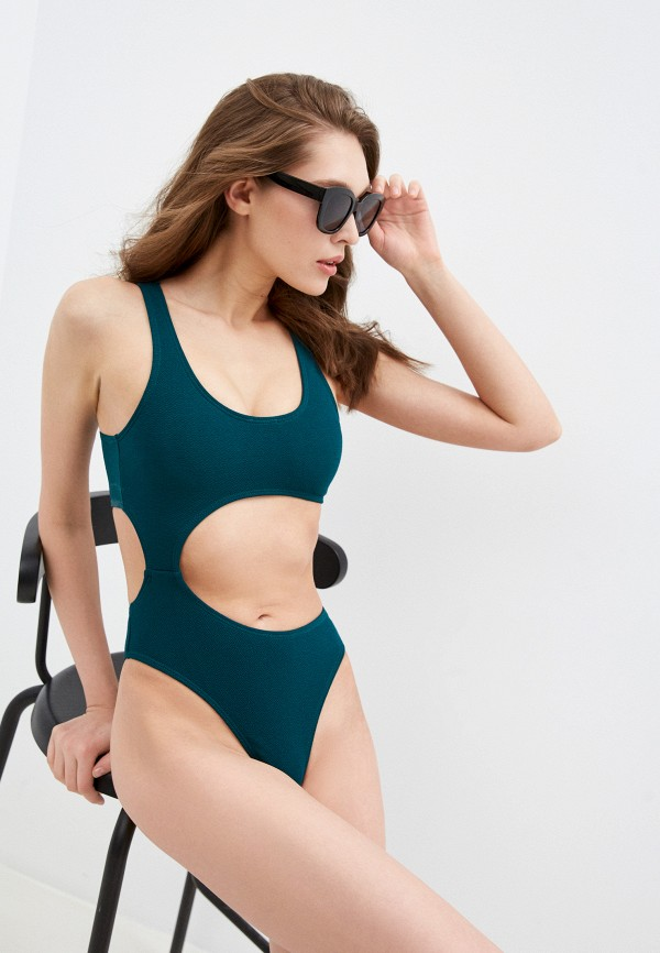 женский купальник delice, зеленый