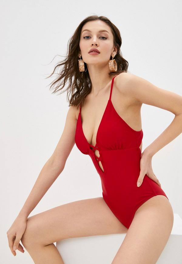 женский купальник delice, красный