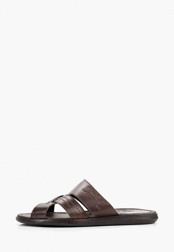 мужские сандалии der spur, коричневые