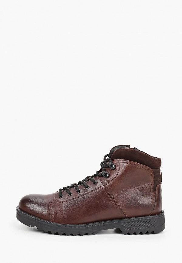 мужские ботинки der spur, коричневые