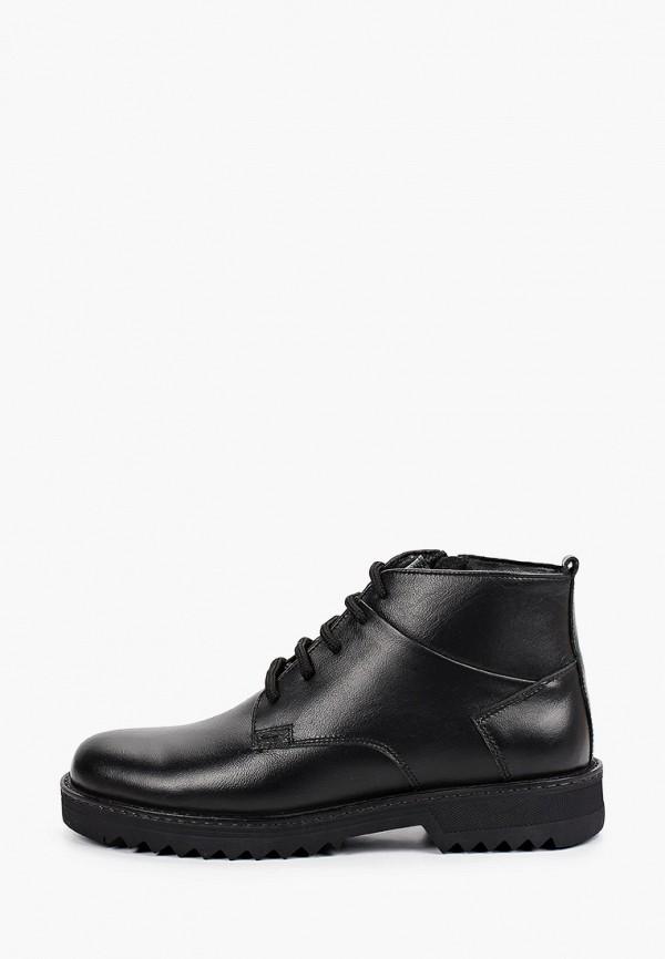 мужские ботинки der spur, черные