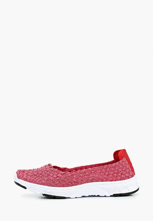 женские кроссовки der spur, красные