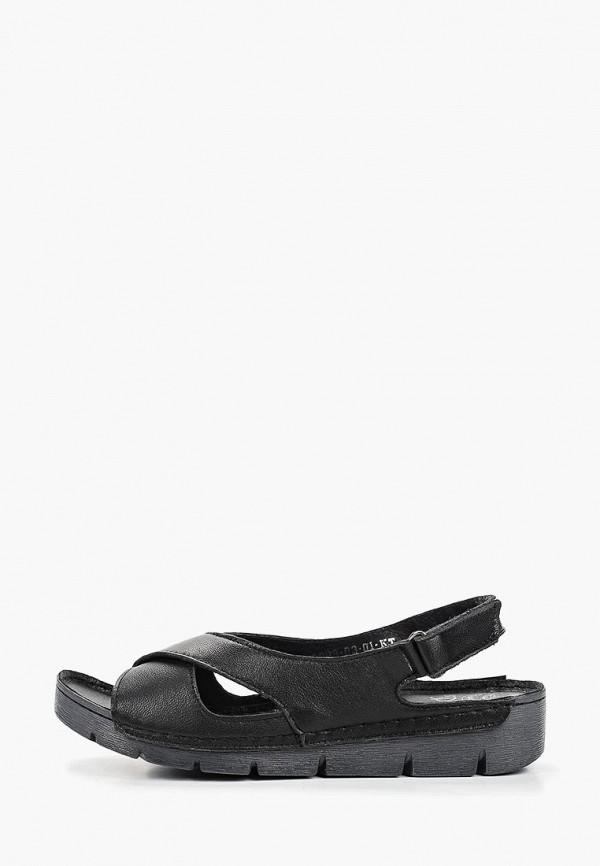 женские сандалии der spur, черные