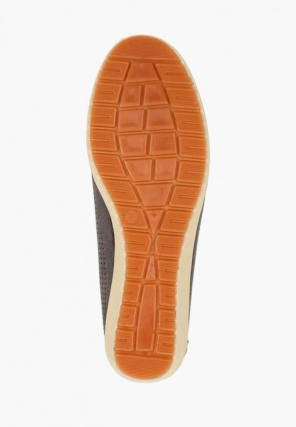 Фото 5 - женские мокасины Der Spur коричневого цвета