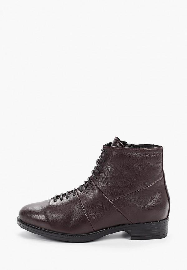 Фото - женские ботинки и полуботинки Der Spur бордового цвета