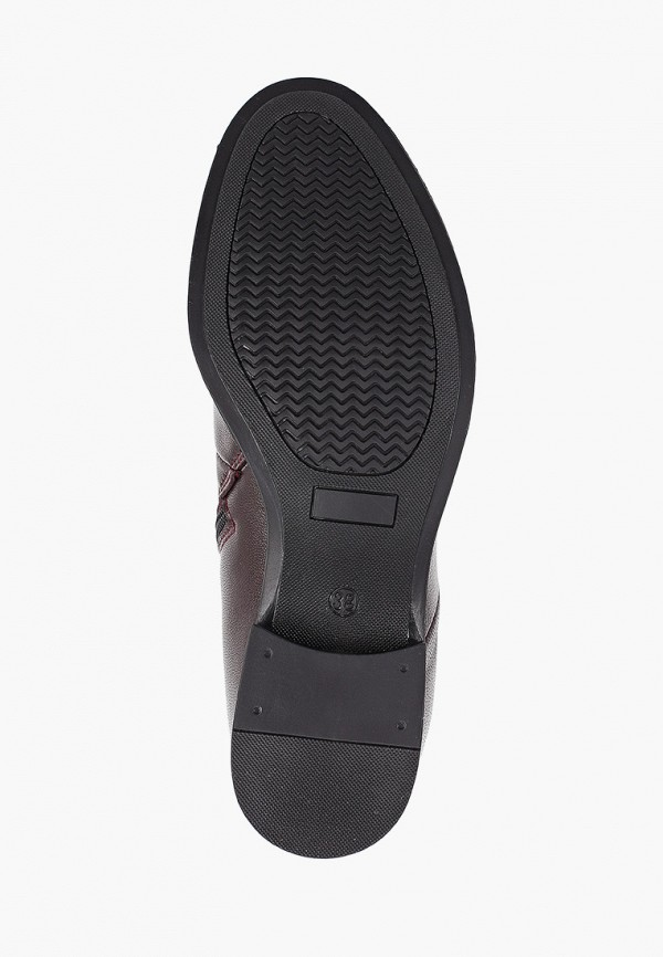 Фото 5 - женские ботинки и полуботинки Der Spur бордового цвета