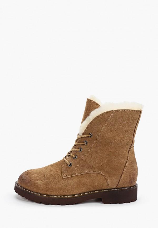 женские ботинки der spur, коричневые