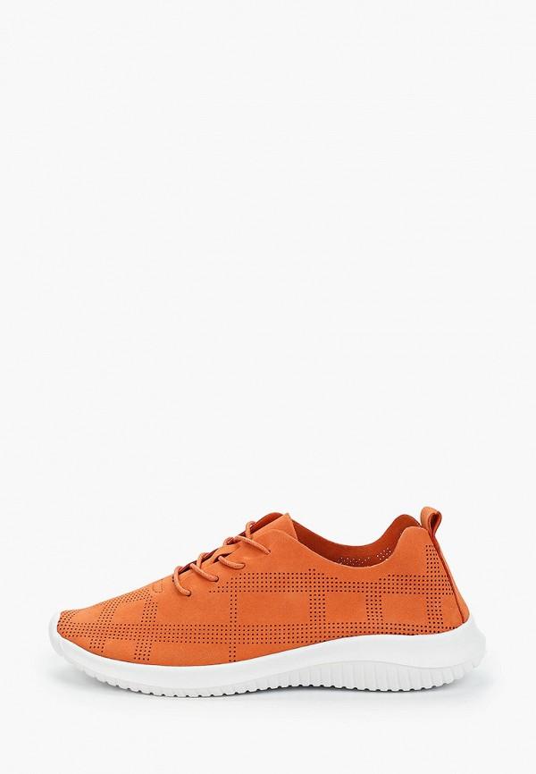 женские кроссовки der spur, оранжевые
