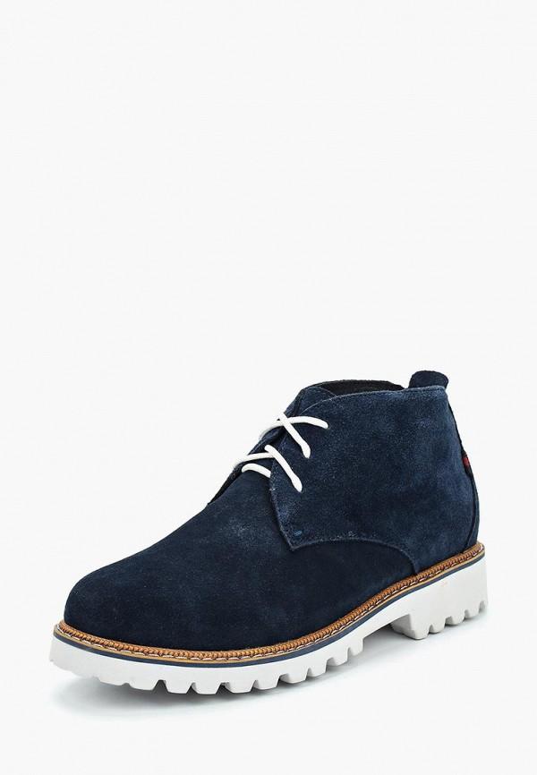 Ботинки Der Spur Der Spur DE034AWWIZ99 der lans синий цвет