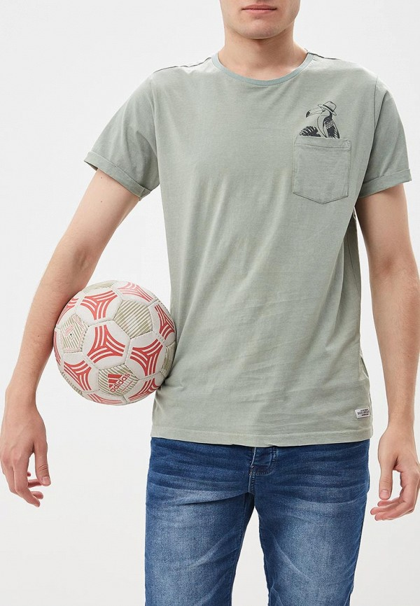 Футболка  зеленый цвета