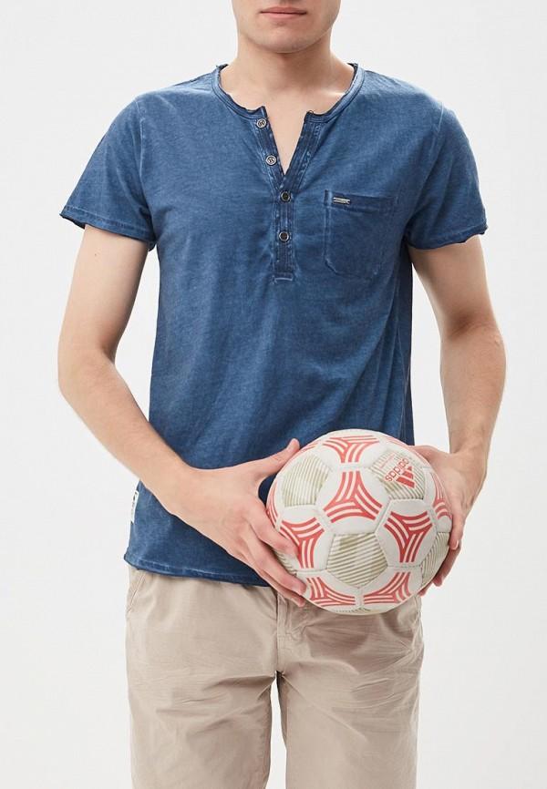 Футболка  синий цвета